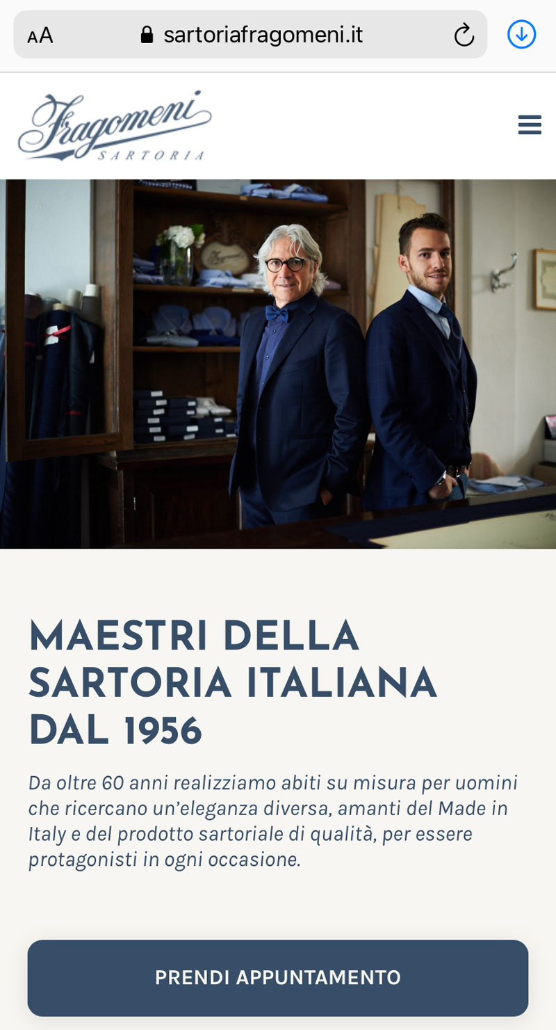 Sartoria Fragomeni desktop